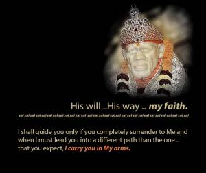 his will....
