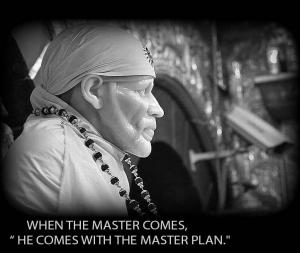 when the master